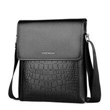 Fashion PU Leather Men Designer High Quality Shoulder Bag Casual Office Messenger Bags Small Flap man Crossbody for Men Handbags недорого
