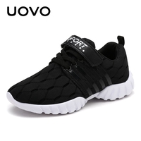 UOVO Newest Kids Shoes Breathable Spring Autumn Shoes For Boys Girls Light Weight Sole Children Shoes