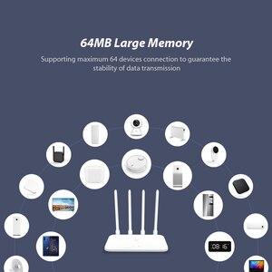 Image 5 - שיאו mi mi נתב 4A אלחוטי WiFi 2.4GHz 5.0GHz Dual Band 1167Mbps WiFi מהדר 4 אנטנות דרך  קיר 64MB רשת Extender