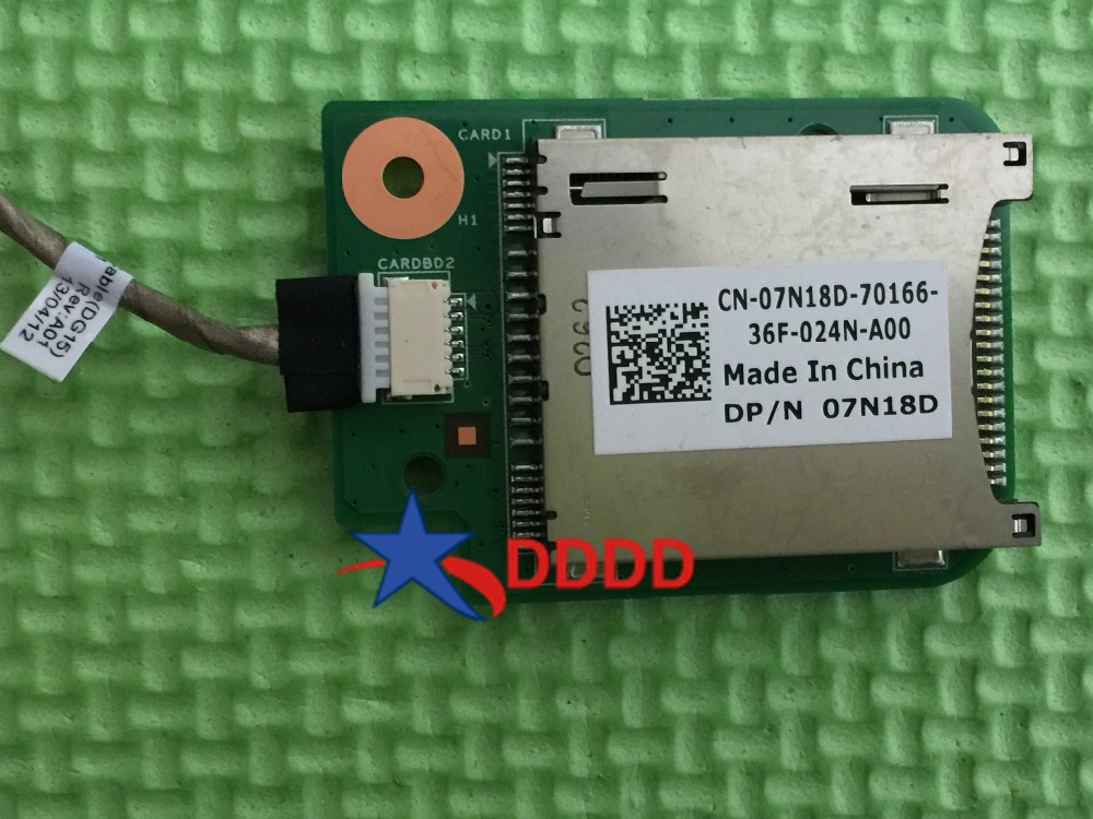 Dell Inspiron N5010 M5010 DP//N 07N18D DG15 Cardreader BD