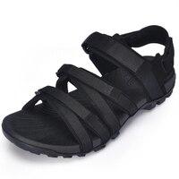 Charming 2019 Men Gladiator Male Shoes Buckle Platform Wedges Summer Sandals Flip Flops Shoes Schoenen Vrouw Slippers Gladiator