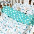Envío libre Ins cama cuna 100% cottotton 1 unids bebé niños juego de Cama incluye funda nórdica 110X130 cm sin llenar