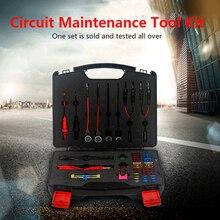 Детектор для ремонта автомобильной цепи, набор инструментов для ремонта цепи, датчик, имитатор сигналов, набор инструментов с диодным тестовым светильник, кабель 1,5 м