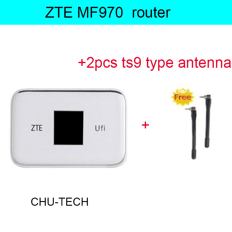 Unlocked ZTE UFi MF970 LTE Cat6 300mbps 4G Mobile WiFi Hotspot Router Dongle