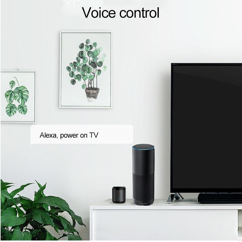 Broadlink RM Pro+/RM Mini3 Universal Smart Controller Hub,Smart Home  Automation,WIFI+IR+RF Remote Control IOS Android Work Alexa