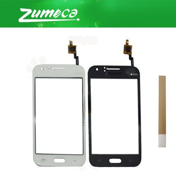 For Samsung Galaxy J1 2015 J100FN J100H J100F SM-J100F Samsung J100 Touch Screen Digitizer Panel Lens Glass 2 Color With Tape