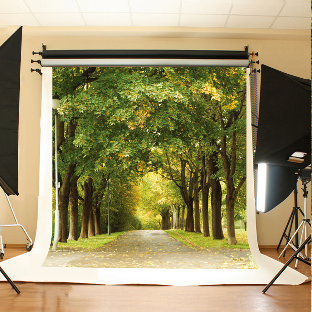 Wedding Photography Background Scattered Leaves Photo Booth Backdrops Wooded Meadow Background for Photographic Studio 300 200cm 10ft 6 5ft photography backdrops scattered horse petal branch