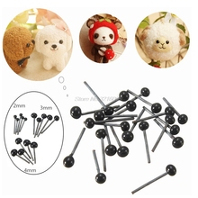 150Pair 2/3/4mm Plastic Safty Eyes For Needle Felting Bear Doll Puppet Crafts Whosale&Dropship