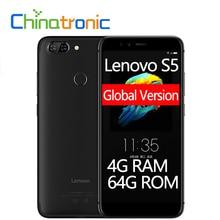 Küresel Sürüm Lenovo S5 4G RAM 64G ROM ZUI 4G LTE 5.7