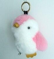 Free Shipping Mini Penguin Keychain