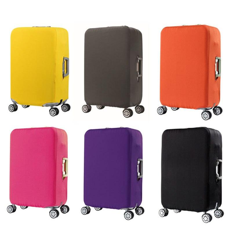 Maleta trolley de viaje maleta cubierta protectora para S/M/L/XL/18-32 pulgadas accesorios de Viaje Funda de equipaje