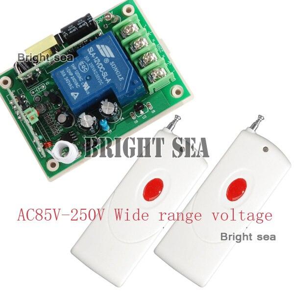 De alta potencia 1000 M 85 V-250 V 30A 3000 W RF Control Remoto Inalámbrico Inte