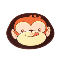 1X Cute 45 55cm Cartoon Anminal Design Door Mat Ground Soft Shaggy Carpets Of Living Room