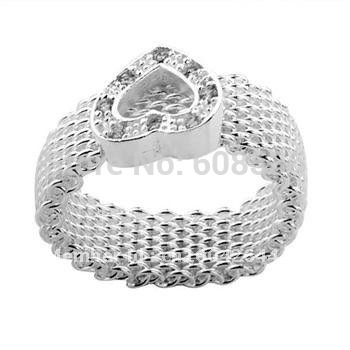 Outstanding quality. Free Shipping  925 Sterling Silver Jewelry jewelry ,ring...R39