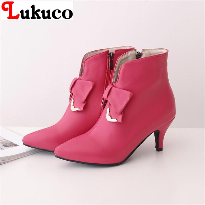 2018 NEW RETRO fashion design lady boots big large size 39 40 41 42 43 44 45 46 47 48 high quality real pictures free shipping