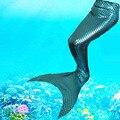 2016 de la Muchacha de cola de Sirena princesa ariel la sirenita Traje para regalos de Cumpleaños de la muchacha traje de Cosplay
