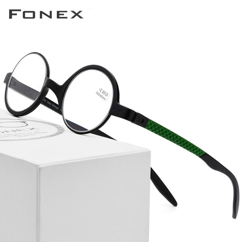 1acade9bd6 Cheap Montura redonda pequeña de gafas de lectura TR90 para hombres viejos  gafas de prescripción para