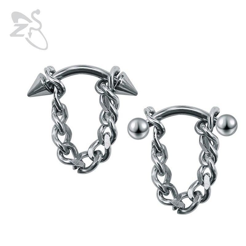 Fashion Men Earrings Stainless Steel Korean Jewelry Chain Earring Stud Unisex Jewelry Bijoux bigbang kpop G-Dragon GD Earrings ...