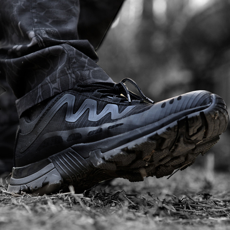Super Lightweight Skor Andas Mesh Sneakers Män Armé Military Boots Tactical Outdoor Sports Trekking Klättring Vandringsskor