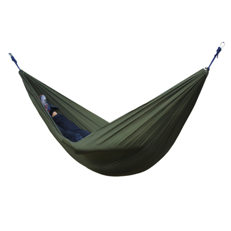 Best 2 People Portable Parachute Hammock for outdoor Camping(Dark green) 270*140 cm best price 5pin cable for outdoor printer