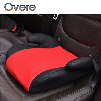 Overe 1PC Car Safety Seat Child Baby Thicken Chairs Cushion For Fiat Punto Volkswagen VW Polo Passat B7 B8 Golf 5 6 7 Tiguan