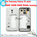 For Samsung Galaxy S5 mini G800F G800H G800A New Original Phone housing cover case Middle Frame Cover + Tool + Free shipping