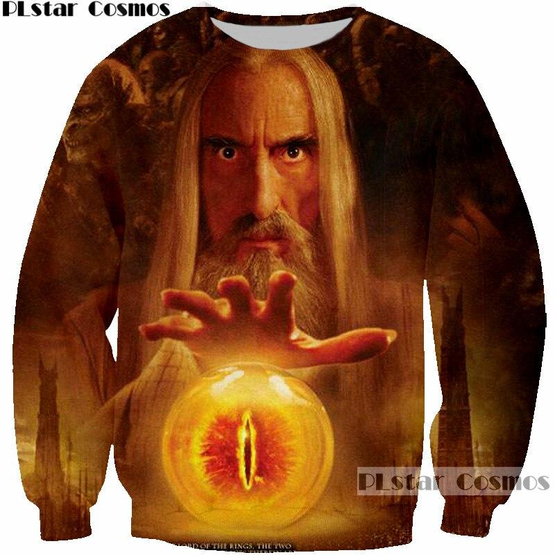 US $13.99 30% OFF PLstar Cosmos Elfing Prince Legolas Greenleaf Orlando Blüte Sweatshirts 3D druck Der Herr der Ringe Pullover Männer Sweatshirts in