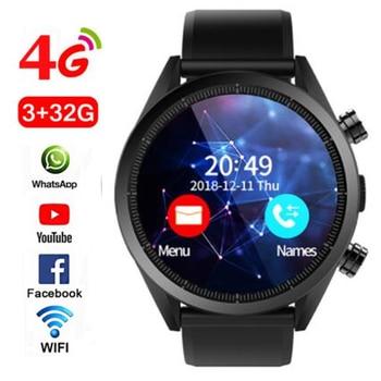 """Kospet Hope Android 7.1 Smartwatch 3GB + 32GB double 4G 1.39 """"AMOLED WIFI GPS Sim IP67 étanche avec caméra montre intelligente montres"""