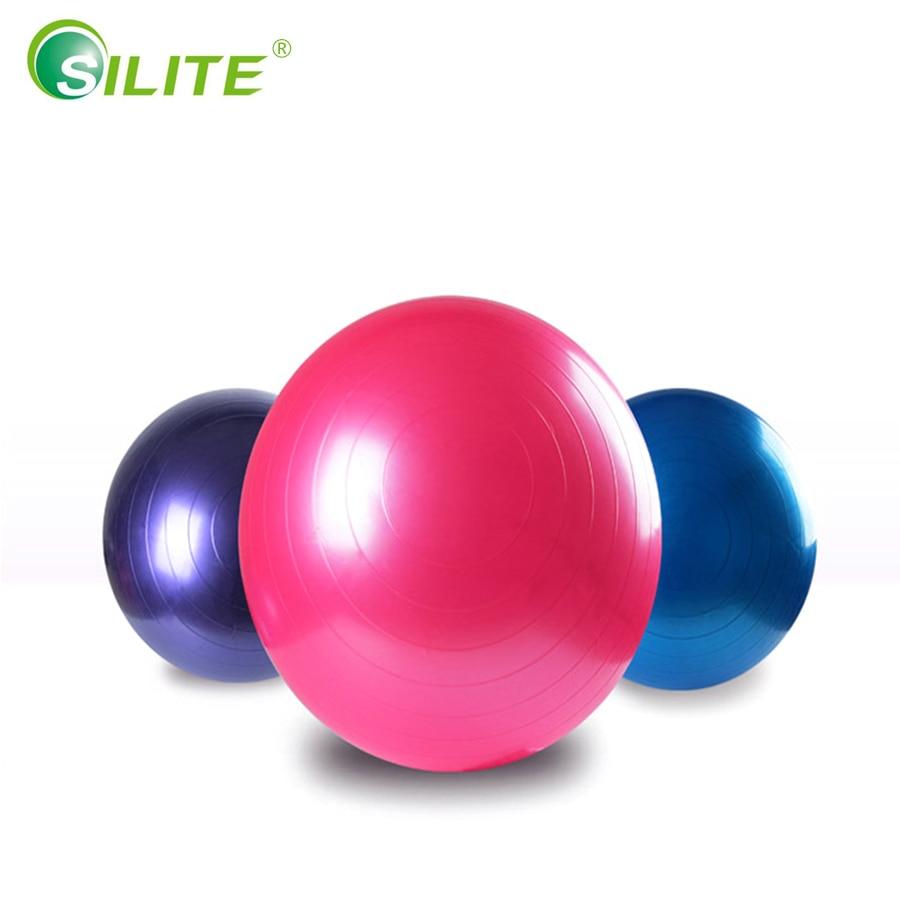 SILITE Ballons De Yoga Pilates Gym Exercice D équilibre Fitness ... 9c49c5ec9d822