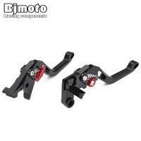 2PCS Bike 5D CNC DIY Brake Clutch Lever For Honda CB599 CB600 HORNET 1998 2009 CBR 600 F2 F3 F4 F4i 1991 2007 Hornet CBF600/S/N