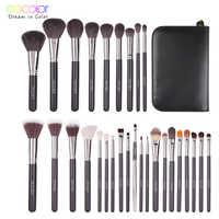 Docolor 29PCS Professional Makeup Brushes Set Make Up Powder Brush Eyeshadow Lip Brush Beauty Cosmetic Tools Kit maquillage