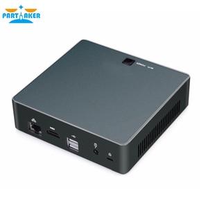 Image 4 - 8 го поколения, Intel Core i5 8250U четырехъядерный 8 ниточный Nuc Мини ПК UHD Graphics 620 DDR4, переменный ток, Wi Fi, 4K HTPC Win 10 Partaker