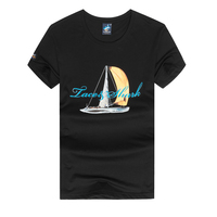 Tace Shark Slim Fit T-Shirt Man Casual Top Tees T Shirts Brand Clothing Summer Fashion New Men T-Shirt O-Neck Short-Sleeved
