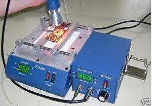 The BGA rework station for T835 + Preheating oven T8120