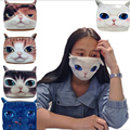 1Pc Winter warmer windproof breathing anti dust masks mouth face mask cartoon animal mask Y1-5