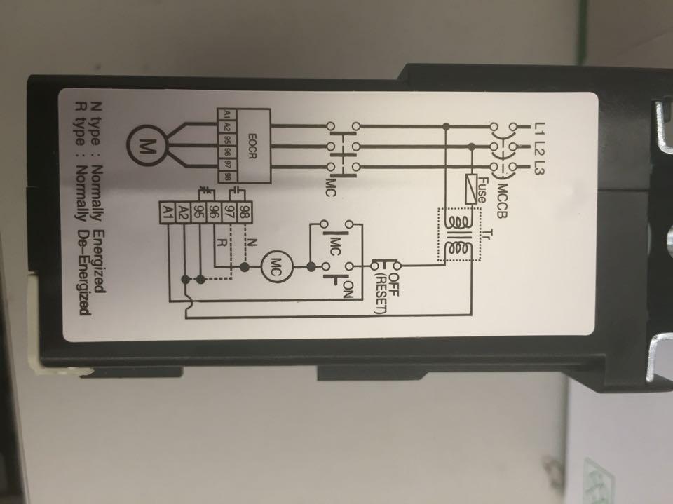 Imported Schneider EOCR motor protector EOCR-DS3 AC110V/220V/440V korea three and eocr motor protector eocr 3dm ac220
