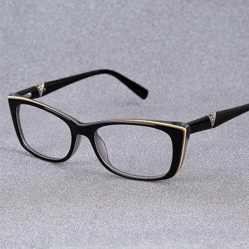 2017 prescrição de óculos quadro do gato óculos de alta qualidade óculos  mulheres armação de óculos de acetato frame ótico eyewear RB24732 888813b8cc
