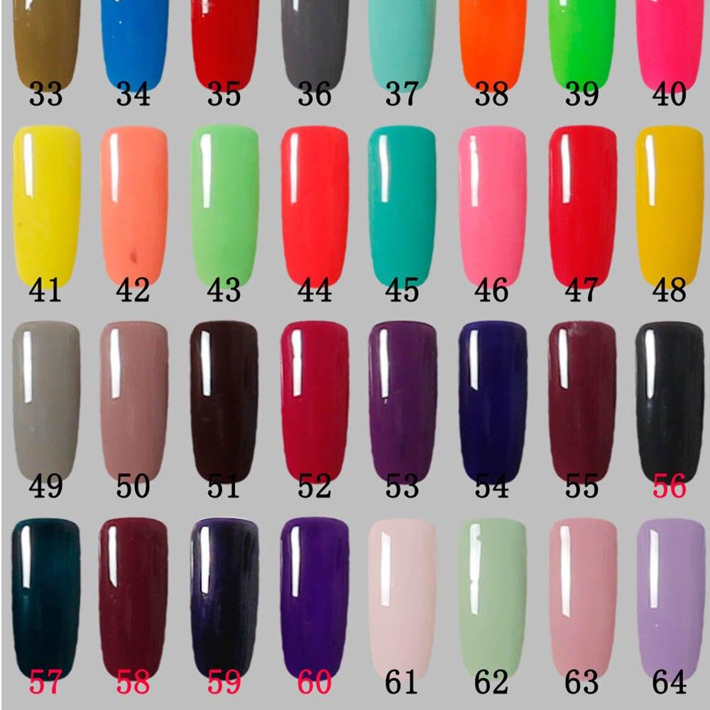 Free Shipping Nail Art Design Manicure 120 Color 10Ml 12 pieces Soak ...