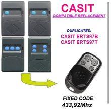CASIT ERTS97B, CASIT ERTS97T Universal remote control/transmitter garage door  replacement clone duplicator Fixed code 433.92MHz цены