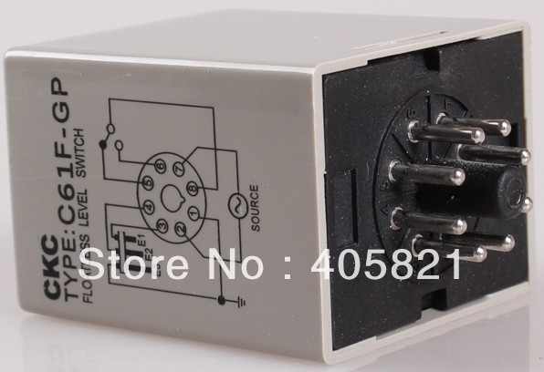 US $16 5 |CKC water level controller /floatless level switch C61F GP 220VAC  50/60Hz contact capacity 5A / 250V-in Switches from Lights & Lighting on