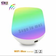 Neue MiLight 2,4G Wireless LED RF Dimmer Fern Wifi ibox ios android app für rgbw/rgb w/ww mi. licht lampe streifen controller