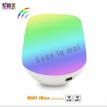 Yeni MiLight 2.4G Kablosuz LED RF Dimmer Uzaktan Wifi ibox iOS Android APP RGBW/RGB W/ WW Mi. ışık lamba ampulü Şerit denetleyici