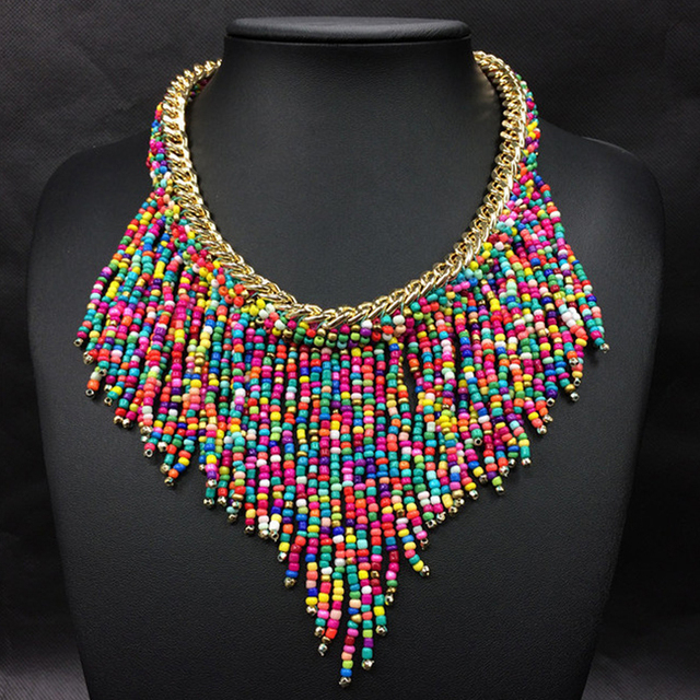 Bohemian Handmade Statement Necklace