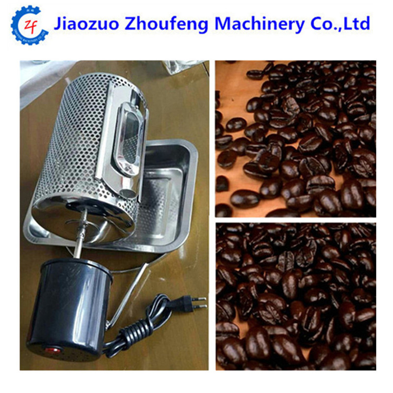 Electric stainless steel glass window coffee roaster machine roasting baking tool used in gas stove or electric stove 220v /110v cukyi 110v 220v household electric coffee roasters 40w power stainless steel coffee bean roasting machine