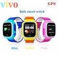 Gps sos smart watch relógio bebê q90 com wifi tela sensível ao toque Local chamada DeviceTracker para Criança Seguro Anti-Perdido Do Monitor PK Q80 Q60