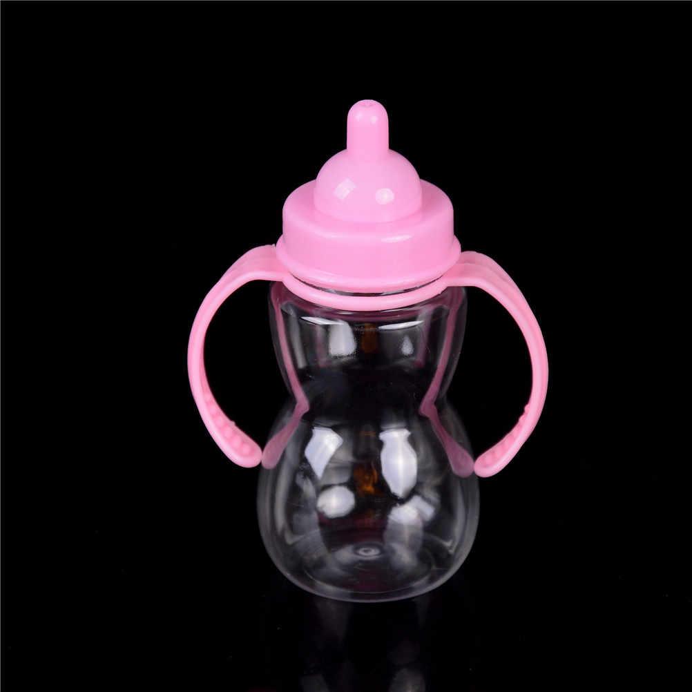 Plastic Magic mike bebê garrafa de leite mamadeira mamilo alimentador para boneca de brinquedo boneca bottle90 * 50*120mm