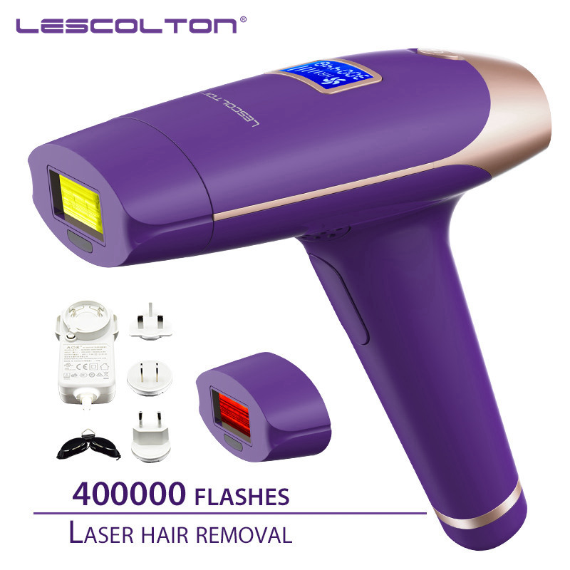 Lescolton IPL Laser Hair Removal Device for Permanent Hair Removal of Armpit Hair with 700000 Flashes 10