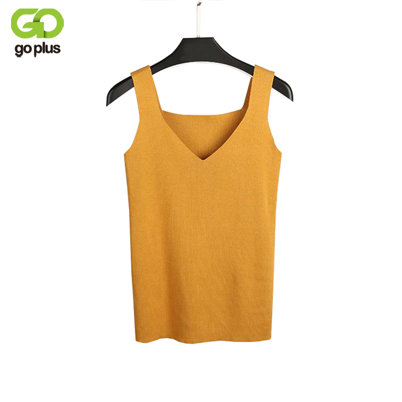GOPLUS sexy slim   tank     top   blusa cropped feminino women sleeveless crop   top   halter white black bustier summer crop   tops   C4892