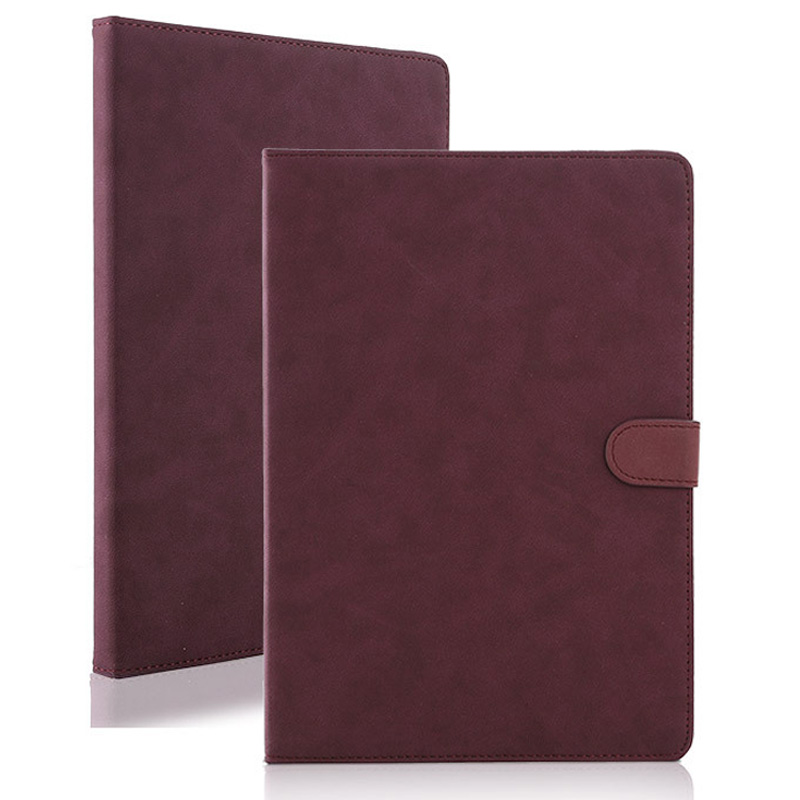 Luxury Tablet Case For New ipad 2017 2018 Fashion Retro Matte PU Leather Folding Folio Stand Case Cover For ipad Air 1 Air 2 (6)