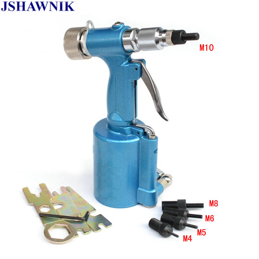 High Quality M4-M10 Semi-Automatic Pneumatic Riveting Nut Gun Pneumatic Drawing Machine For Stainless Steel Rivets Rivet Machine